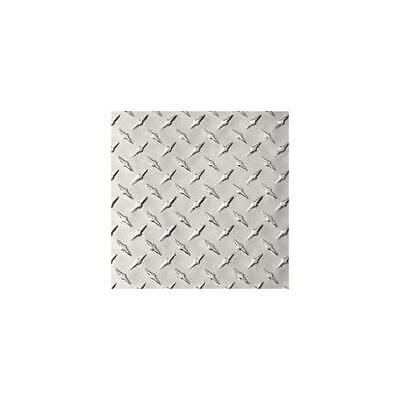 Aluminum 3003-h22 Diamond Tread Plate .025 X 24 X 24 Bright Finish Astm