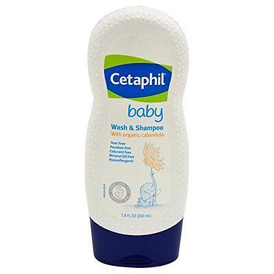 Cetaphil Baby Wash & Shampoo, 7.8 fl oz