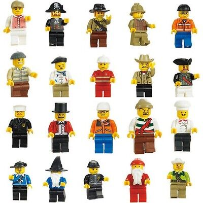 20pc Assortment Style of Lego Mini Figures