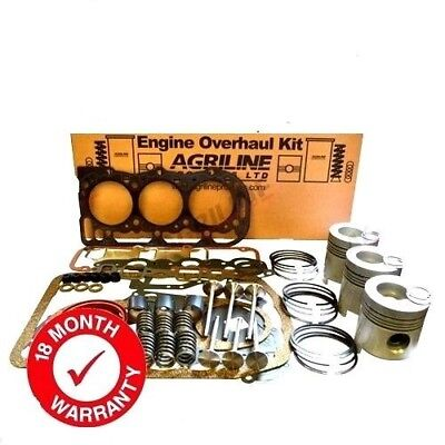 Engine Overhaul Kit Fits Ford 4000 4600 4610 Without Liners Includes Valve Train