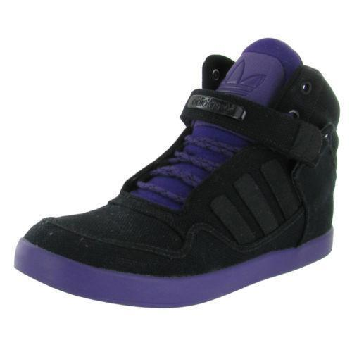 High Top Shoes With Velcro Strap