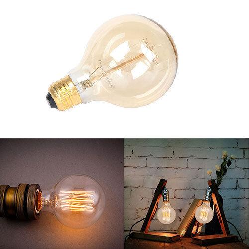 Edison E26 ST64 Lamp Retro Glass 110V 40W Vintage Light Bulb