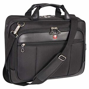 Swiss Gear SWA0917C Scan Smart Large Briefcase DeLuxe Top Load