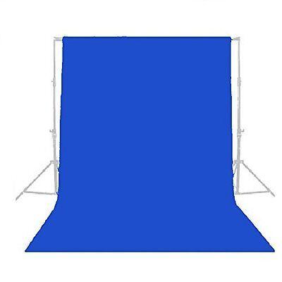 1Fancierstudio Photography 10' X 10' Blue Muslin Backdrop Chromakey Blue Screen  Chroma Key Muslin Backdrop