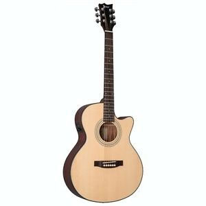 ESP LTD AG-50E Xtone Acoustic-Electric Hybrid Guitar-NEW IN BOX