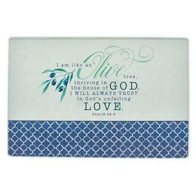 Cutting Board Gls Olive Range by Christian Art Gifts New Free Expedited...