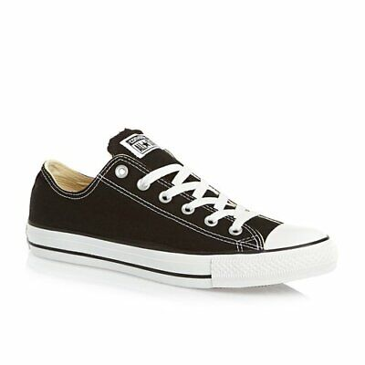 Converse Mens Chuck Taylor Black All Stars OX Shoes - Size 8...