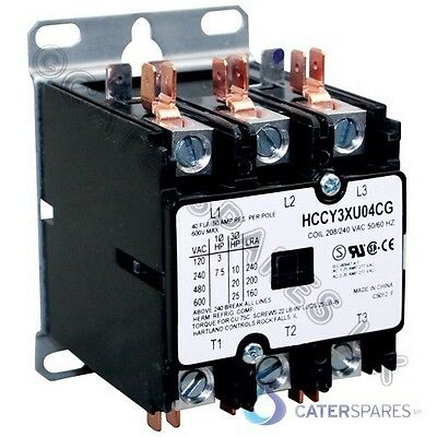 Henny Penny Hcw Chicken Display Warmer Main Power Contactor 240v Mains Power