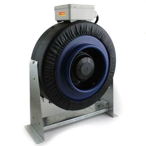 Heat Duct Booster Blower : Duct booster fan ebay