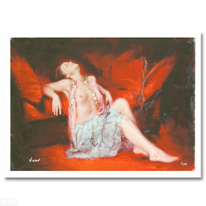 'Restful Recline' Limited Edition Giclee on Art Paper By Vidan Strathcona County Edmonton Area image 3