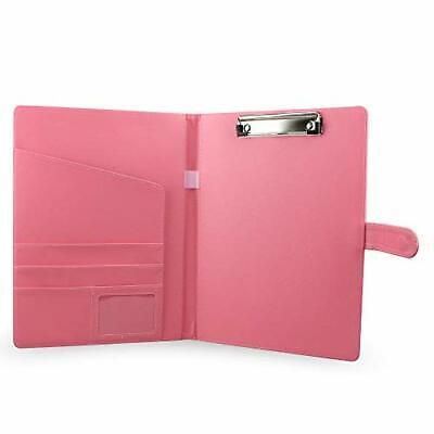 Padfolioportfolio Folderpu Leather Conference Folder Executive Pink