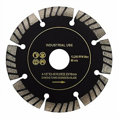 - Turbo Segment Cutting Diamond Blade 4-1/2