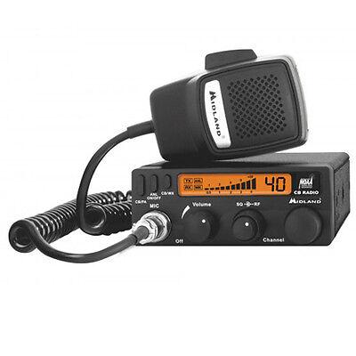 Midland 1001LWX CB Radio with Weather Scan 40-Channel Digital Tuner New