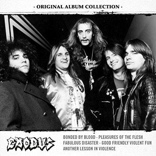 Original Album Collection: Discovering Exodus - 5 DISC SET - Exod (2016, CD NEW)