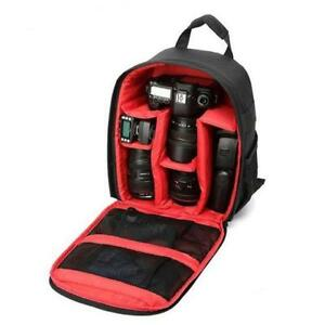 Red/Black Camera Backpack Waterproof Case for Canon/Nikon/Sony