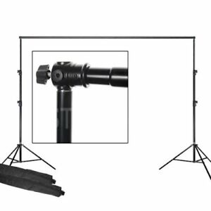 8x10 ft Telescopic Backdrop Background Stand
