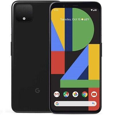 Google Pixel 4 XL 128GB Unlocked Smartphone 6.3 QHD+ Display 6GB RAM Just Black