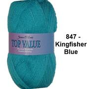 Blue Double Knitting Wool