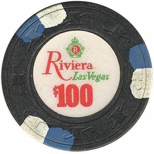 Riviera Casino Las Vegas NV $100 Chip 1985