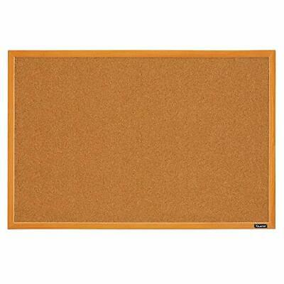 Quartet Corkboard Framed Bulletin Board 2