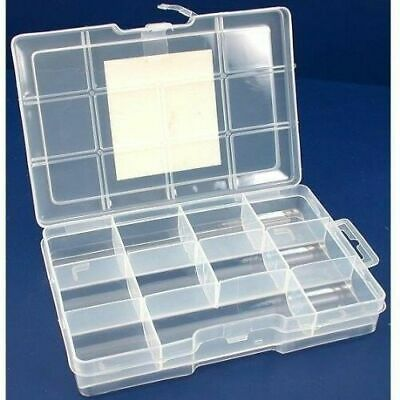Metal Detecting Finds Box With Lock 11 Compartments 7.5 In. X 5 In. X 1.5 In.