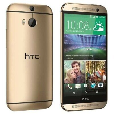 HTC One M9 AT&T Unlocked GSM 4G LTE 32GB 5Inch Android Smartphone Phone Gold