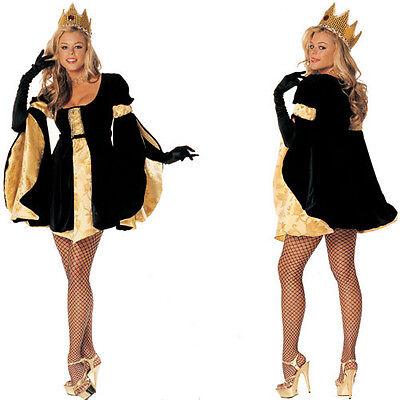 Royal Highness Costume Set Renaissance Kings Court Velvet (Royal Court Kostüme)