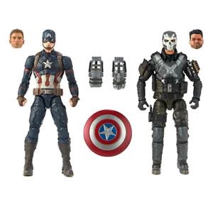 Marvel Legends Ten Years MCU Captain America & Crossbones