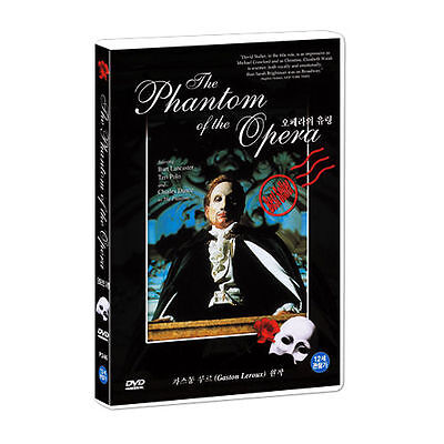 Phantom of the Opera: TV Series (1990) Burt Lancaster DVD *NEW