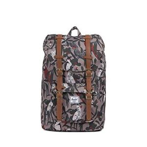 Herschel Little America, Brindle Parlour/Tan Synthetic Leather