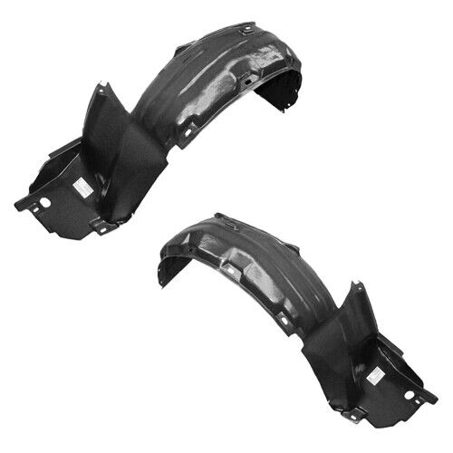 New Front Driver & Passenger Side Fender Liner Set For