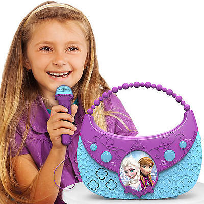 Disney Frozen Cool Tunes Sing Along Boombox Songs   Connects To Mp3 Players