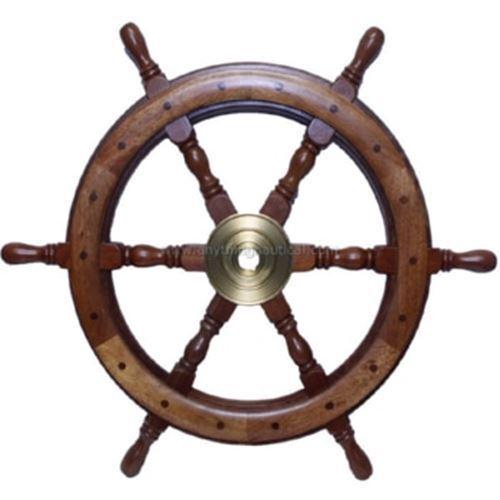 "30"" Deluxe Wooden Ship"