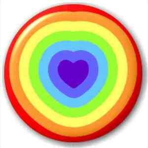NEW-LAPEL-PIN-BUTTON-BADGE-Rainbow-Heart