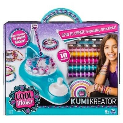 Cool Maker 6038300 KumiKreator Friendship Bracelet Maker Makes Up to 10](Friendship Bracelet Maker)