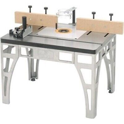 Heavy Duty Cast Iron Steel Metal Router Table Wood Shaper Shaping Tool Stand Jig Cast Iron Router Tables