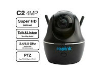 reolink c2 indoor smart camera brand new in box 1440p 3x optical zoom baby/pet/nanny camera
