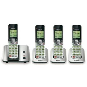 4 Handset Cordless Phone with Caller ID/Call Waiting