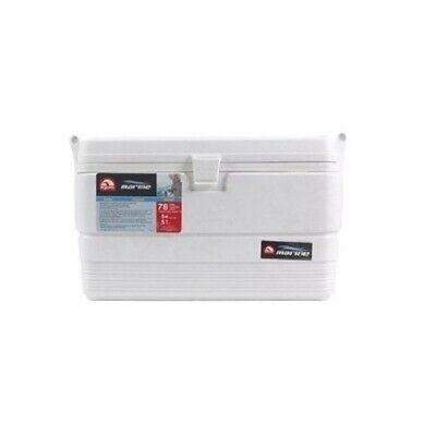 Igloo 44683 54 Quart Marine Ultra Chest Cooler, Plastic/White, Non-slip Handle