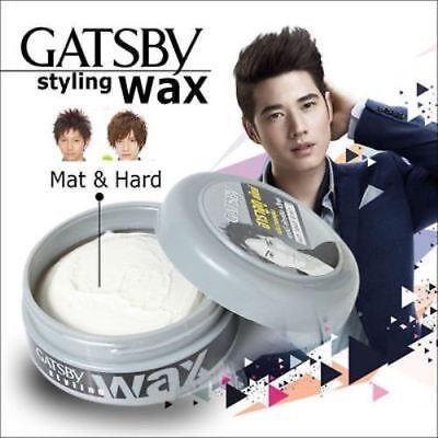 GOOD GATSBY HAIR STYLING WAX GREY HARAJUKU STYLE MATT& HARD NET 75 (Good Moustache Styles)