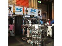 Exhibition Trade Show Arena 4 Gantry Lightweight Stand System Retail Fittings with Storage