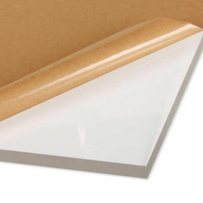 4 Pack 18 6mm Clear Cast Acrylic Sheet Plexiglass 6 X 24 Strip Azm Sale