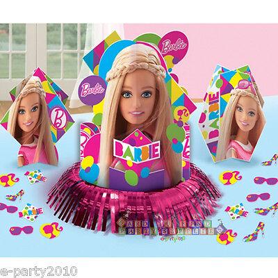 BARBIE Sparkle TABLE DECORATING KIT (23pc) ~ Birthday Party Supplies Decorations](Barbie Birthday Decorations)