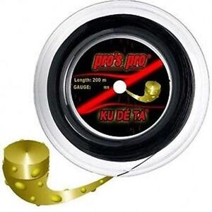 PRO S PRO KUDETA 1.25 TENNIS STRING REEL ,200 M , NEW