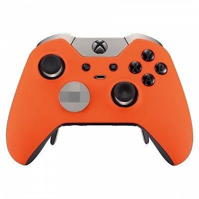 Woolly ORANGE Original Xbox One ELITE UN-MODDED Custom Controller Unique Design