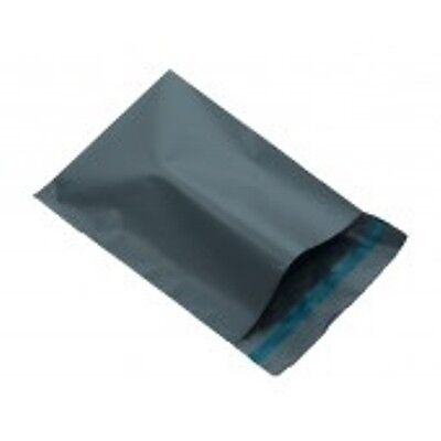 25 Grey Plastic Postal Mailing Bags 9 x 12 A4 230mm x 300mm FREE POSTAGE