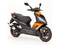 2014 PEUGEOT SPEEDFIGHT 3 DARKSIDE 125CC GOOD CONDITON