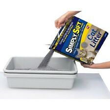Simply Sift 3 Piece No Mess Cat Litter Tray System- As Seen on TV- Free Shipping