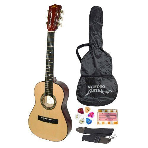 Acoustic Guitar with Carrying Case & Accessories for Kids Beginner Jamer 30 Inch