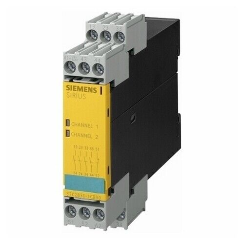 3TK2830-1CB30, Siemens, SIRIUS safety relay with enabling circuits 24 VAC/DC